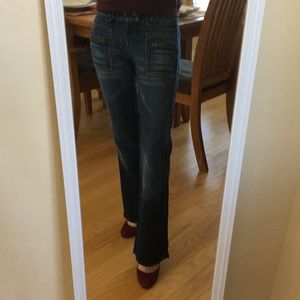 7 For All Mankind vintage blue jeans size 25